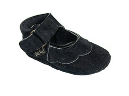 Babyslofjes Baby Paws Cindy navy suede
