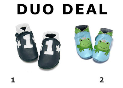 Duo Deal NR 1 Blauw + kikker