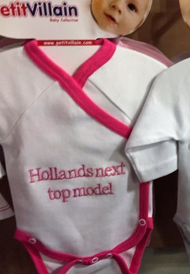 Romper hollands next top model Maat 62